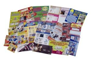 Ejemplos de diseños de flyers