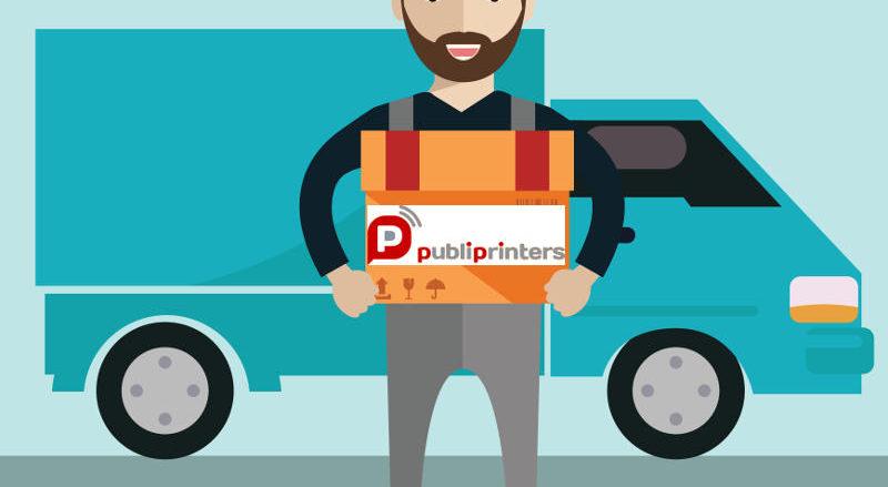 Imprimir sin gastos de envío con Publiprinters