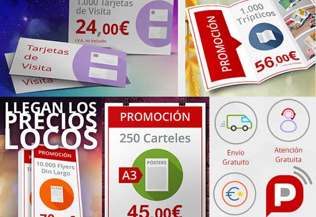 Imprimr flyers baratos con las ofertas de Publiprinters