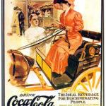 Cartel publicitario CocaCola, 1889