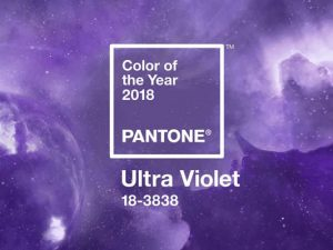 Color Pantone 2018: Ultra Violet