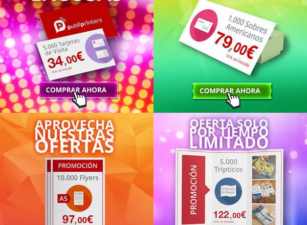 Imprenta Online low cost. Ofertas de impresión