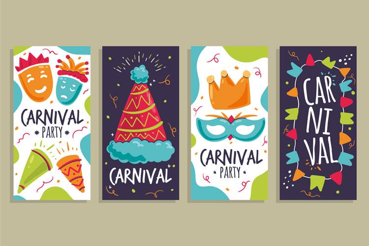 Imprime tus carteles publicitarios y flyers para carnaval | Publiprinters.com