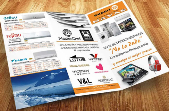 Imprimir folletos publicitarios con Publiprinters