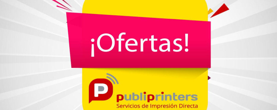 Descubre todas las ofertas en impresión online |Publiprinters.com