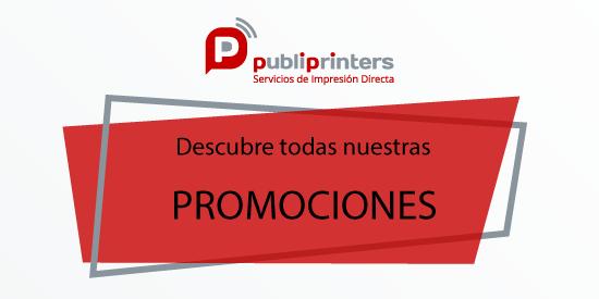 Ofertas y Promociones imprenta online Publiprinters.com